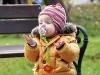 Ania przy ławce