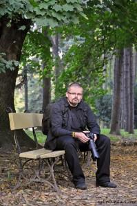 Marcin na ławce