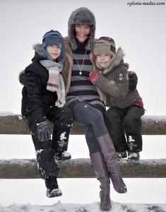 Kasia z synami