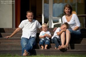 Sesja rodzinnna w Starych Babicach