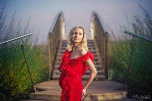 Zdjęcia ciążowe w plenerze – Martyna